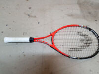 Head Radical 27 Tennis racket with cover
