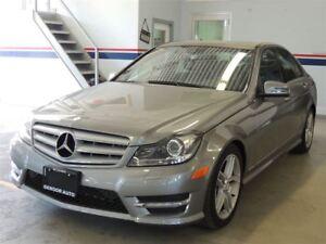2012 Mercedes-Benz C300, NAVI, 4MATIC, AMG  PACK, SUNROOF