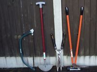 List of garden hand tools for sale .