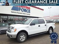 2014 Ford F-150 XLT SuperCrew 4WD w/Cloth Seats - 17,595 KMs