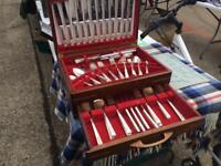 Vintage 80piece Silver Cutlery Set in Display Box