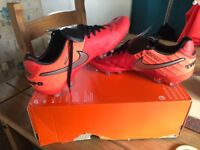 Size 7 Nike rugby/football boots