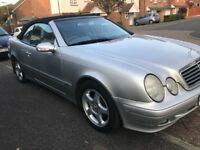 Mercedes clk convertible avantguard 320 2003 automatic p-ex welcome,still insured/taxed