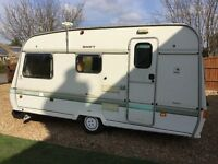 Swift Corvette 1990 4 Berth Touring Caravan, Excellent Condition For Year,