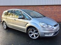 FORD S-MAX TITANIUM 2.0 TDCi•7 SEATER•LEATHERS•DVD• PANORAMIC SUNROOF
