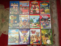 Children's dvd collection, Chuggington, Thomas, Fireman Sam etc