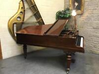 1880 John Broadwood & Son's Cottage Grand Piano - CAN DELIVER