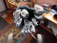 Golf Clubs Mixed Full Set with Hippo Bag + Trolley