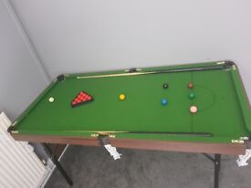 5ft snooker table
