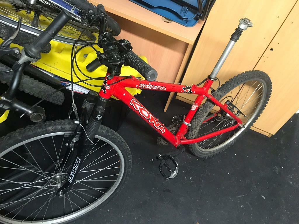 Quick Sale Red Kuna 16 Inch Mountain Bike Frame To Project On For
