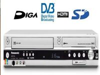 PANASONIC DVD RECORDER VHS RECORDER COMBINATION