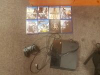 Playstation 6 games and controller with all leads