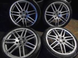 "18"" 5x112 GENUINE Audi Le Mans with tyres."