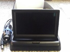 security tfi colour monitor,12 volt,video system ntec/pal,4.3 screen.new boxed.