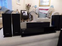 Sony Home Cinema - BDV-E670W. Blu-Ray 3D Player, Speaker Stands included. Excellent sound.