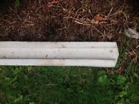Brand new concrete slotted fence post free