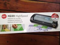 Brand NEW GBC Highspeed H220 A4 A3 Laminator CAN DELIVER Usual RRP Over £100