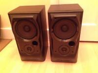 Mission 730 bookshelf hifi speakers