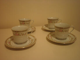 vintage china cup and saucer set