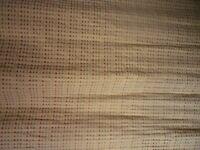 John Lewis curtains and pelmet.