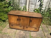 Elm ERCOL sideboard to restore