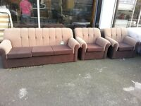 brand new shell sofas for sale, good quality and also they are brand new. Available in now in store.