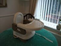 Summer Infant folding booster chair