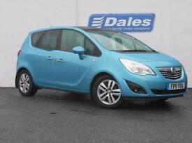 Vauxhall Meriva 1.7 CDTi 16V SE 5dr Auto (blue) 2011