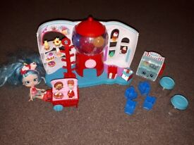 Shopkins sweet shop and shoppies doll