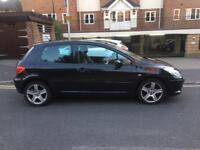 2006 Peugeot 307 Xsi 2,0 litre 3dr 2 owners