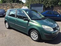 renault scenic authentique 1.4 16v! 04 plate! mot jan-2017! 80,000 miles! runs and drives well!