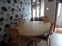 Moving house. Selling appliances and table/chairs