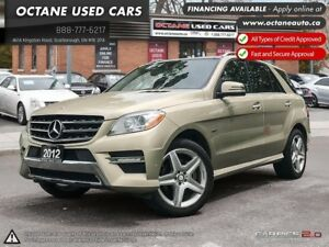 2012 Mercedes-Benz M-Class 350 BLUETEC-Accident Free; Finance!