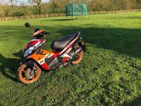 Honda repsol moped