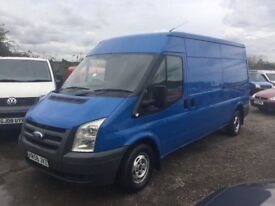 58 REG NEW SHAPE FORD TRANSIT 115 LWBASE SIDE DOOR IN NICE CONDITION IN AND OUT MOT DRIVES SUPERB