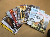 History Today magazines (approximately 400)