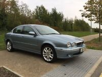2003 Jaguar X-type V6 Petrol Manual New MOT Blue With Ivory Leather Seat WARRANTY PART EXCHANGE WELC