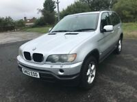 \\\\ 02 BMW X5 3.0 SPORT 4x4 AUTOMATIC ,,, EXCELLENT CONDITION ONLY £2999