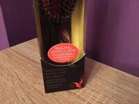 New Hair Brush Danman D81S Small Nylon/Bristle Cushion Hairbrush