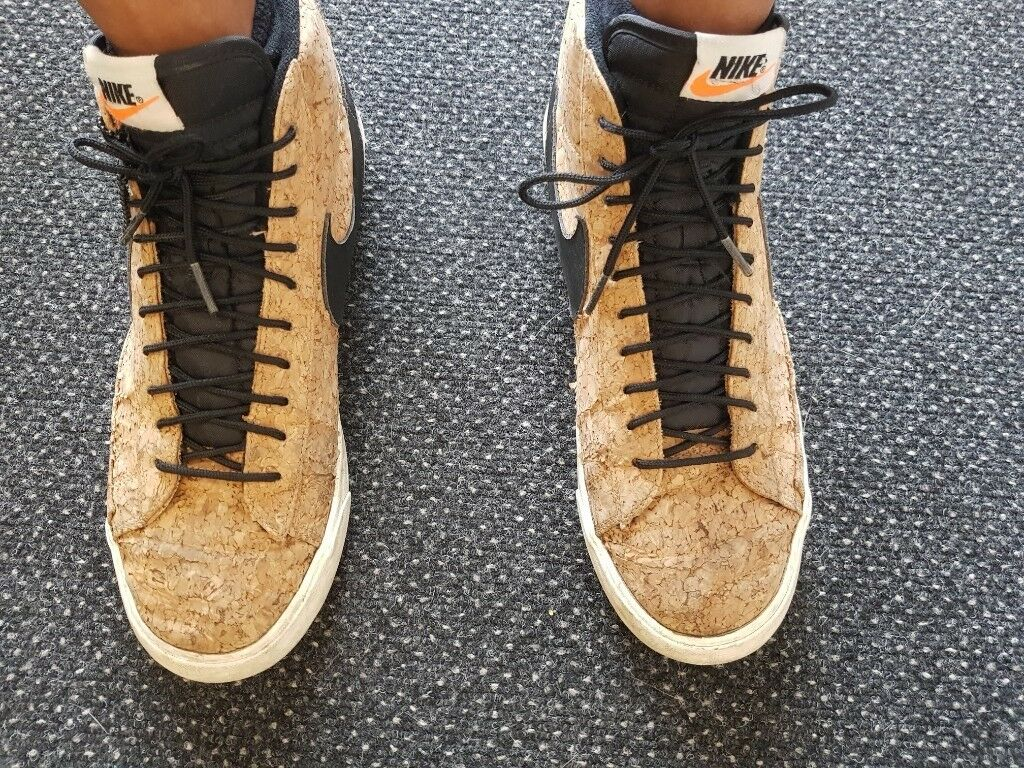 5566ab2aeb NIKE high top cork screw trainers- size 9 | in Brighton, East Sussex ...