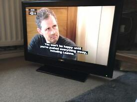 32 inch television tv . No remote