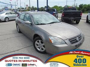 2003 Nissan Altima SL | LEATHER | FRESH TRADE | AS-IS SPECIAL