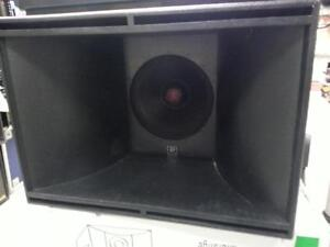 Power Audio 1000W Midrange 15' Reflex speakers. Wew sell New and used Audio equipment and speakers.