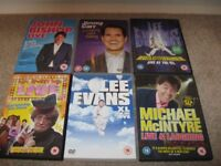 6 x Comedy DVD's Mrs Browns boys, John Bishop, Jimmy Carr, Lee Evans etc