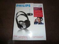 Philips wireless rechargeable headphones