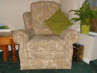 FREE: ARMCHAIR, very good condition. Collection needed as soon as possible, please.