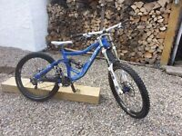 2009 limited Edition blue Specialized Big Hit 2, Custom Spec Downhill Mountain bike