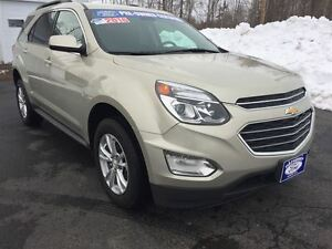 2016 Chevrolet Equinox LT ONE OWNER LOCAL TRADE $73 WEEKLY O.A.C