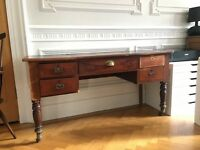 Well Used Vintage Style Writing Desk