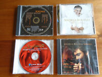 4 ANDREA BOCELLI MUSIC CDs PLUS OTHER MUSIC CDs, PLUS OTHER CDs